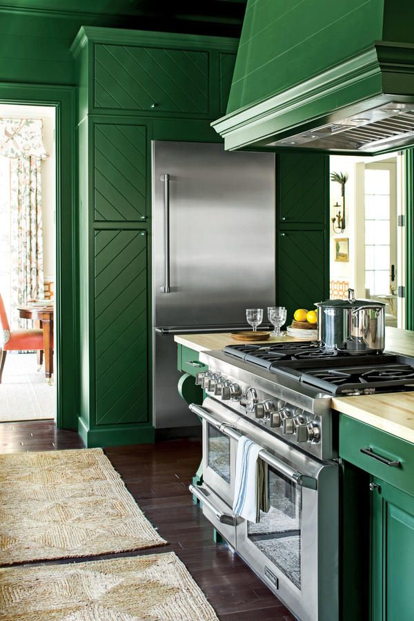 451 best images about southern living magazine on for Avocado kitchen cabinets