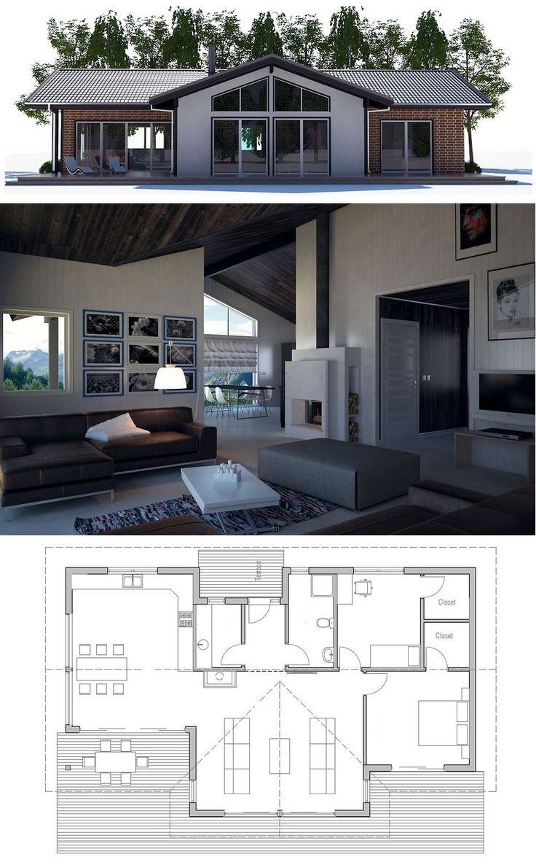 1000 idées sur le thème plans de maison bungalow sur pinterest ...