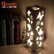 40 W lámpara de mesa Decorativa de Madera de época Estilo Breve Pantalla Moderna Sala de estar Dormitorio Rústico Plástico AC110-220V luz del escritorio(China (Mainland))