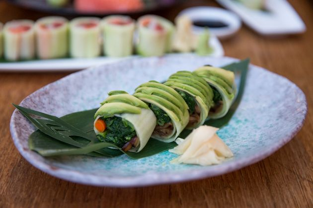 Blue Ribbon Sushi Bar & Grill, Gluten Free Dining, Sushi Restaurant, The Grove, Vegetarian