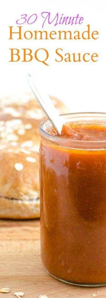 Simple 30 Minute Barbecue Sauce | Recipe | Barbecue Sauce Recipes ...