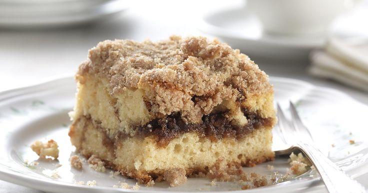 Coffee Cake Recipe King Arthur: Cinnamon-Streusel Coffeecake