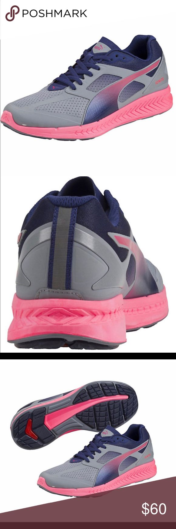 Puma Ignite Women's Running Shoe NIB. Extremely lightweight running shoe. Worn by the fastest man alive, Usain Bolt. Puma Shoes Athletic Shoes