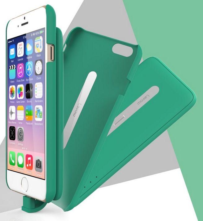 Coque avec batterie externe aimantée Lepow Pie pour iPhone 6  #case #iphonecase #iphone6case #iphone6 #powerbankcase #powerbank #powercase