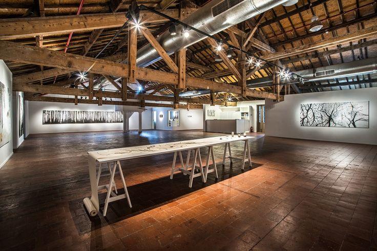 A gallery set in the historical train station compound 'HaTachana' #Unique #Venue #Business #Event #TelAviv