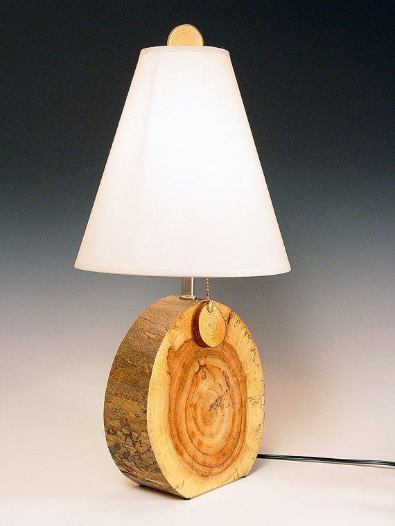 Lâmpada de mesa.  Lâmpada de mesa.  Desert Driftwood.  Resistida naturalmente noz.  Perfeitamente imperfeito e cheio de personalidade.  51