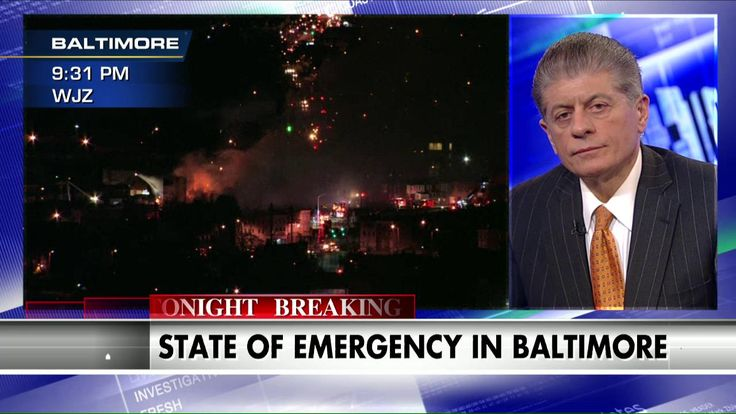 Judge Nap: 'No Legal Justification for This Kind of Behavior' in Baltimore