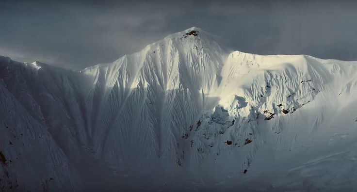 Watch: Gravity-Defying Spine Lines in the Yukon