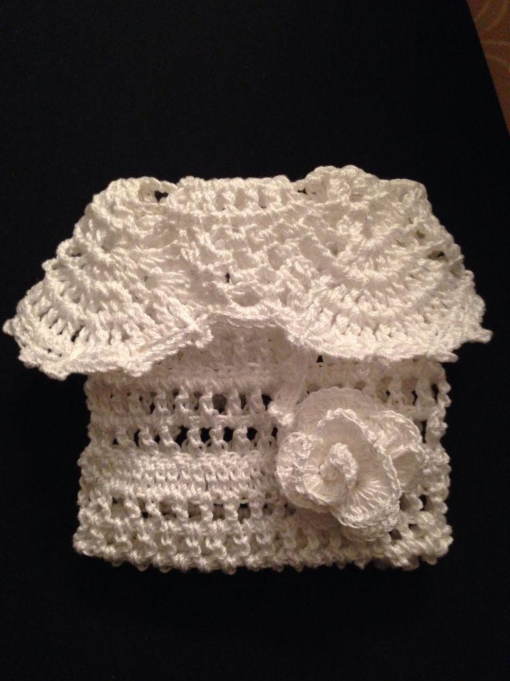 Crochet Wedding Gift Bag