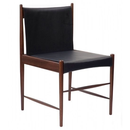 Cadeira Cantu baixa / Cantu Low Chair. Design by Sérgio Rodrigues, 1959. Site: www.espasso.com