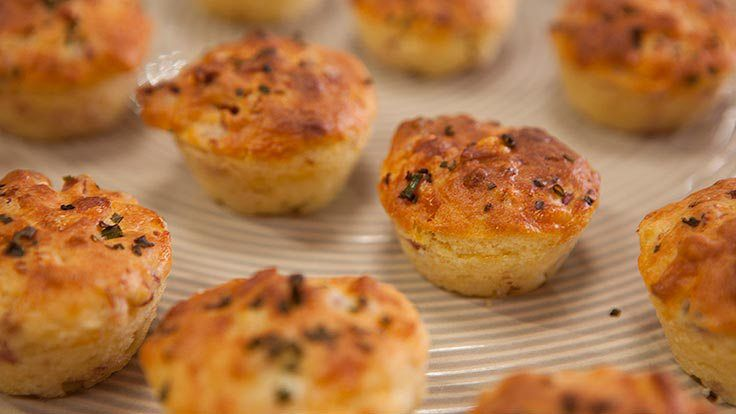 Cheese Mini Muffins