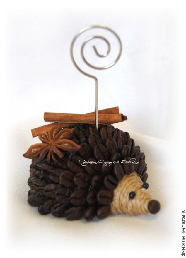 Fragrant coffee hedgehogs. Master Class. - Fair Masters - handmade, handmade