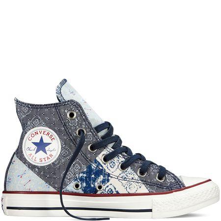 Converse - Chuck Taylor All Star Bandana - Navy - Hi Top