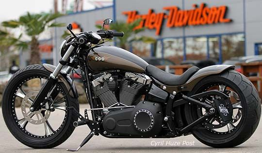 custom harley davidson breakout to introduce the new. Black Bedroom Furniture Sets. Home Design Ideas