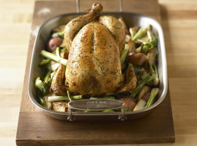 This easy, lemon roast chicken is a delicious alternative to a simple roast chicken. The subltle hints of lenon and the buttery sauce make it on to try. You will ove it.