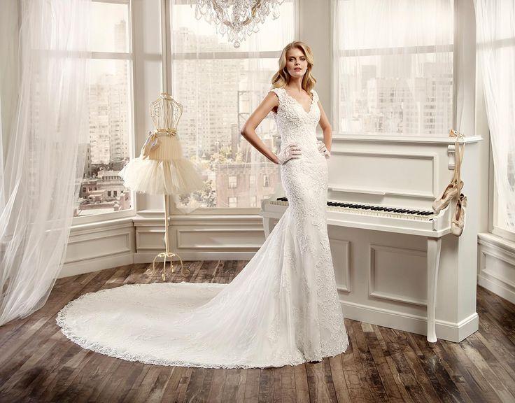 Moda sposa 2016 - Collezione NICOLE.  NIAB16001. Abito da sposa Nicole.