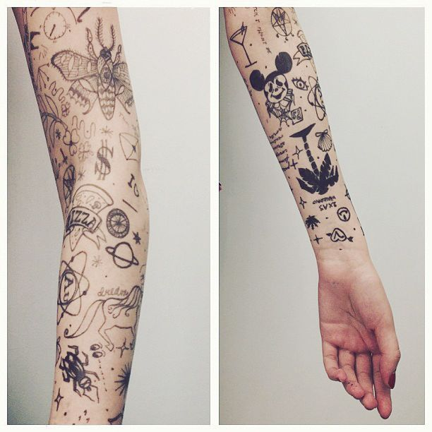 Small Arm Tattoo: Joy Studio Design Gallery