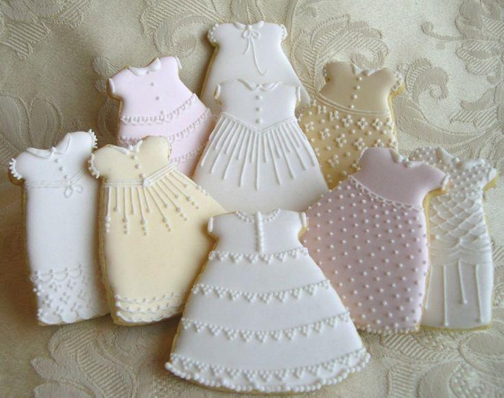Christening gowns biscotti decorati