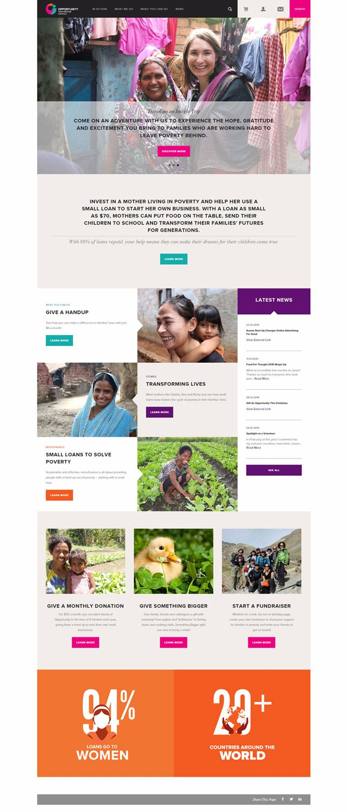 Hello everyone!! Today we display some amazing charity and non-profit website designs for your inspiration. Design of charity website should follow some guides to achieve the main objective of the site. It needs to educate the people about the organization and its cause. The appearance of website must invite the people to involve with the …