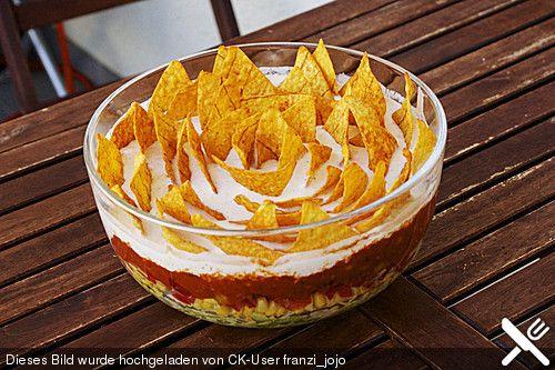 Weltbester Tacosalat Anstatt Fuego Taco-Mix kann man Fix für Chili con Carne verwenden(z.B. Knorr oder Maggi)