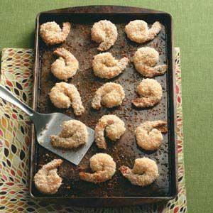 Better Than Fried Shrimp Recipe from Taste of Home -- shared by Cher Schwartz of Ellisville, Missouri     http://pinterest.com/taste_of_home/