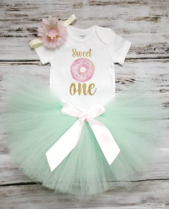 a1be84bc9 Donut Birthday Outfit Girl | Donut 1st Birthday Outfit | Sweet One ...