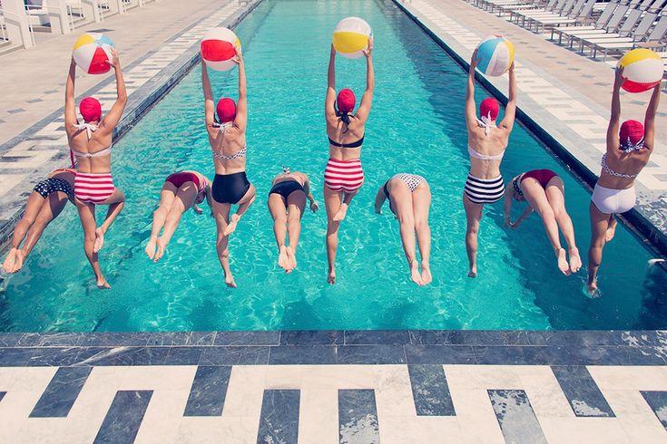 """Summertime Splash"" Photograph by Gray Malin, from Aqua Glam series"