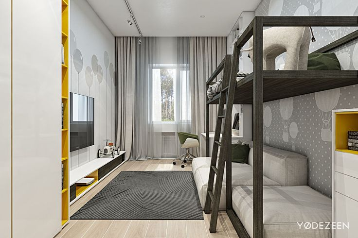 cool A Kids Friendly Apartment Design With Lots Of Playful Features