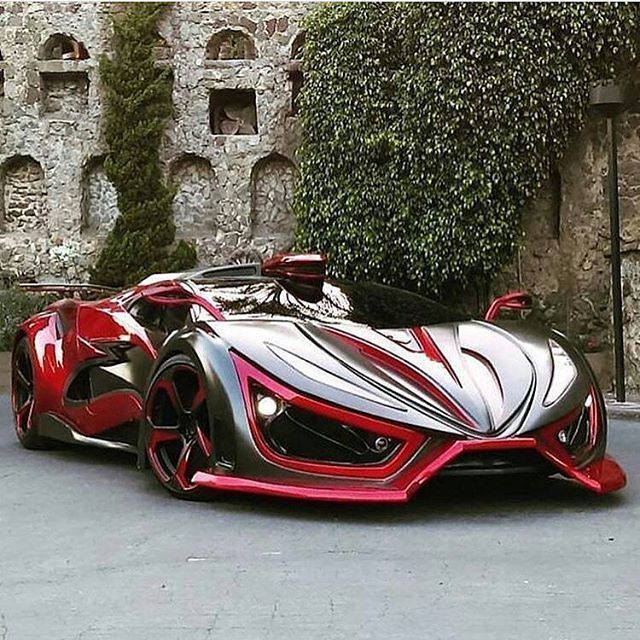 The amazingly beautiful Inferno Supercar