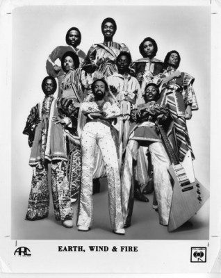 My Absolute Favorite Band.....  Earth, Wind, and Fire