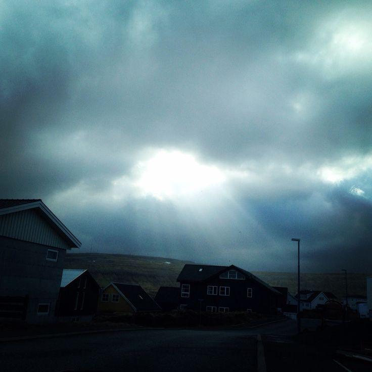 Somewhere in the Tórshavn area