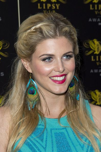 Ashley James Lookbook: Ashley James wearing Cocktail Dress (3 of 3). Ashley James chose a two-toned blue sleeveless frock for the Lipsy VIP Awards Ceremony.