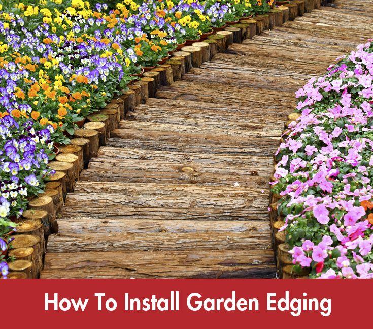 Installing #gardenedging just got easier! #Summer #DIY