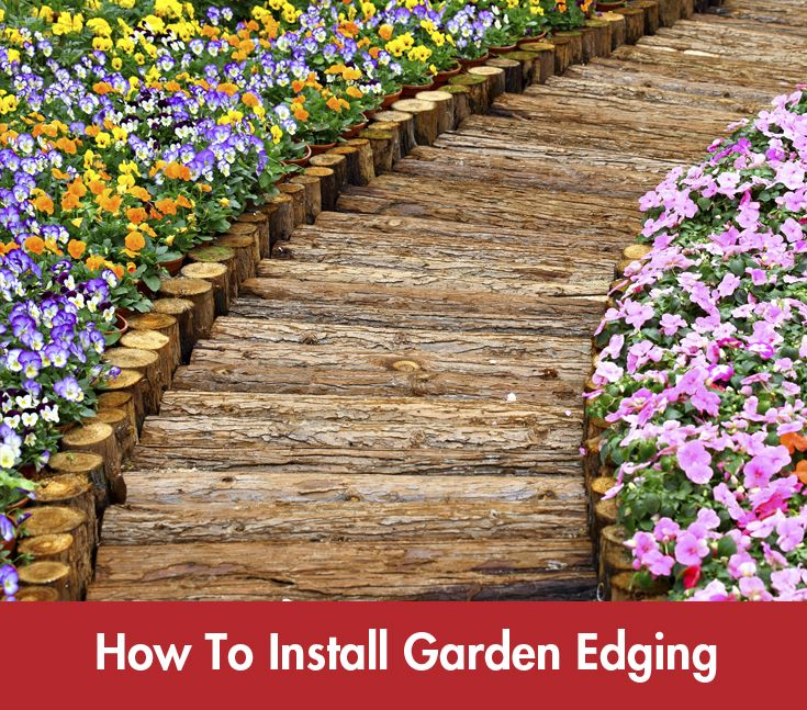 Installing #gardenedging just got easier! #Summer #DIY