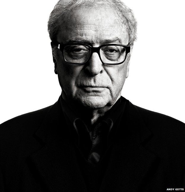 Michael Caine - Photographer Andy Gotts