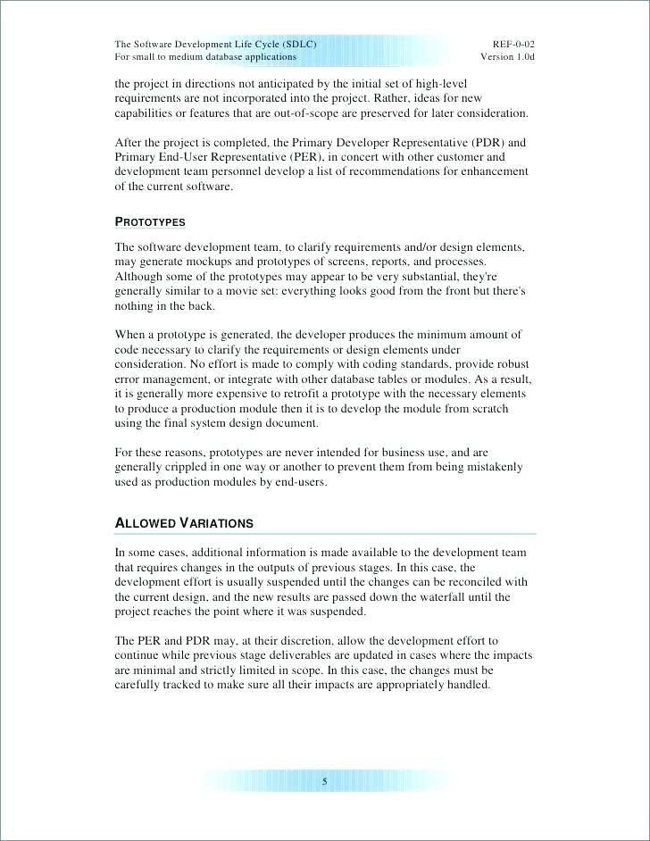 29 Requirement Document Template Statement Template Document