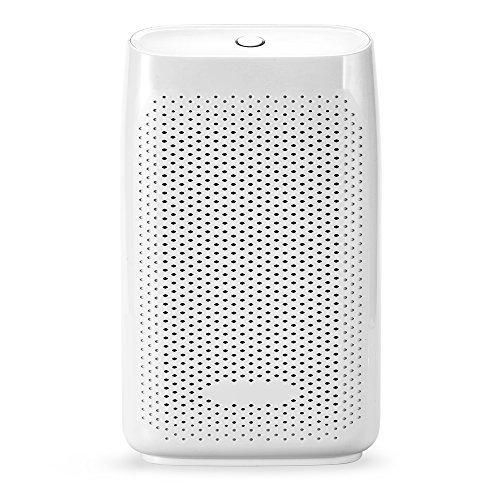 Afloia Mini Portable Dehumidifier for Home 700ml Water Tank Small Dehumidifier Air Purifier Quiet Air Dehumidifier purifier Electric Dehumidifiers for Grow Room and Basement