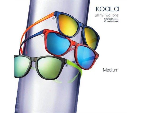 gafas de sol de centrostyle KOALA polarizadas. Sus varillas se agarran perfectamente para que no se muevan. Sus lentes son polarizadas y con espejos de moda. Descubrelas en Casol Vision.