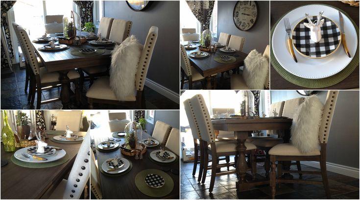 The Brick Aspen Dining Set