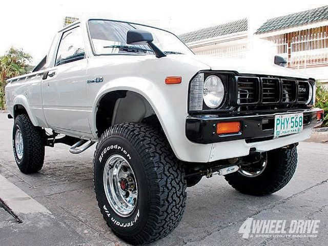 1981 Toyota Pickup. The one and only. Best Car EVER!!!