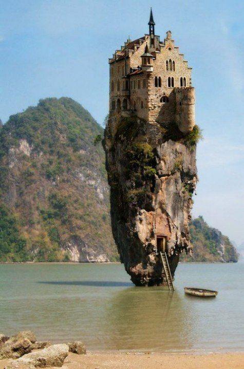 Необычные дома на островах