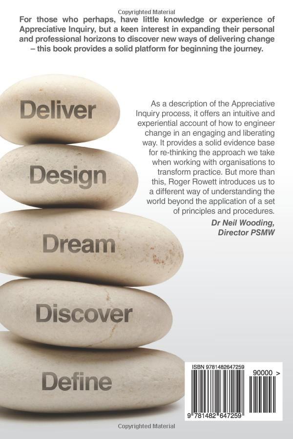 Zen and the Art of Appreciative Inquiry: A glass half full approach to organisational development: Amazon.co.uk: Mr Roger B Rowett: Books