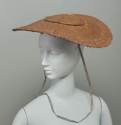 Straw Hat (Bergère), 18th Century.