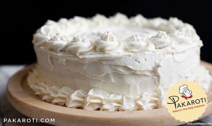 Whipping Cream teksturnya lebih ringan dibanding heavy cream, sehingga krim ini lebih banyak diaplikasikan sebagai hiasan di permukaan kue. #Bakerspedia