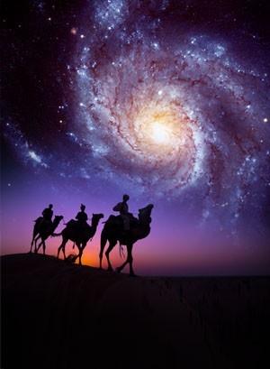 I've always wondered how the star of Bethlehem looked.