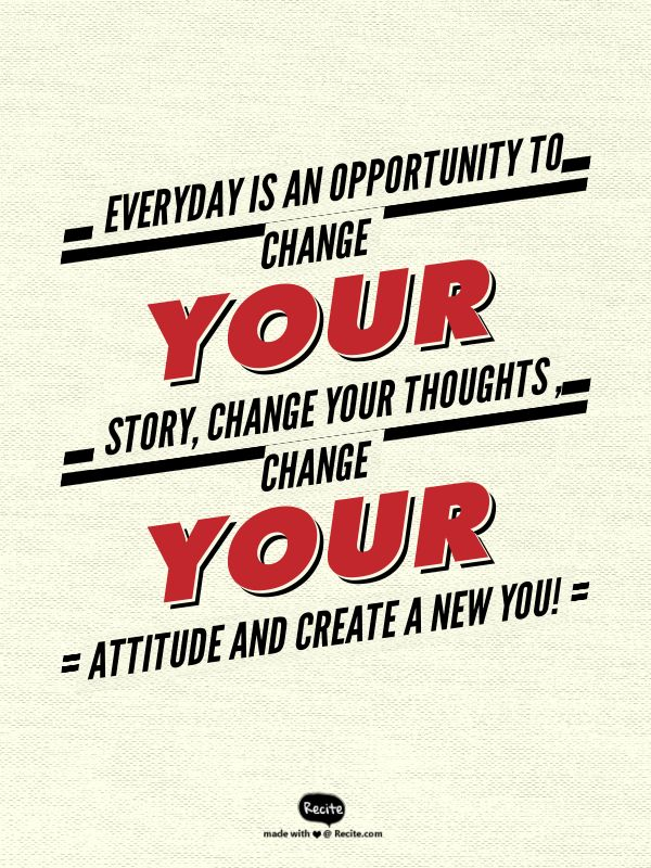 Create a New You