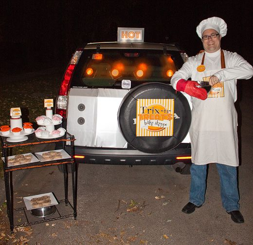 Trunk Halloween Decorating Ideas: 80 Best Trunk Or Treat Images On Pinterest