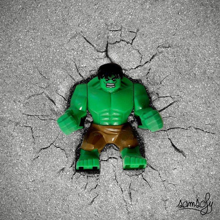 Hulk LEGO sMaSh