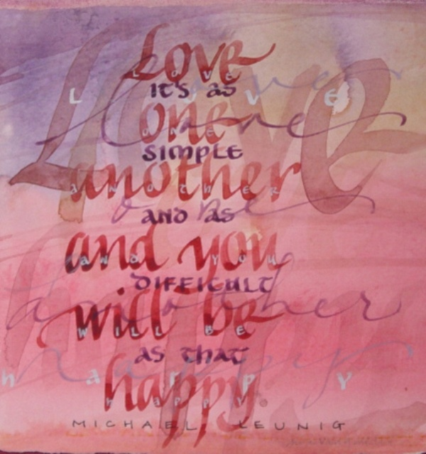 28 best My paintings images on Pinterest   Calligraphy ...