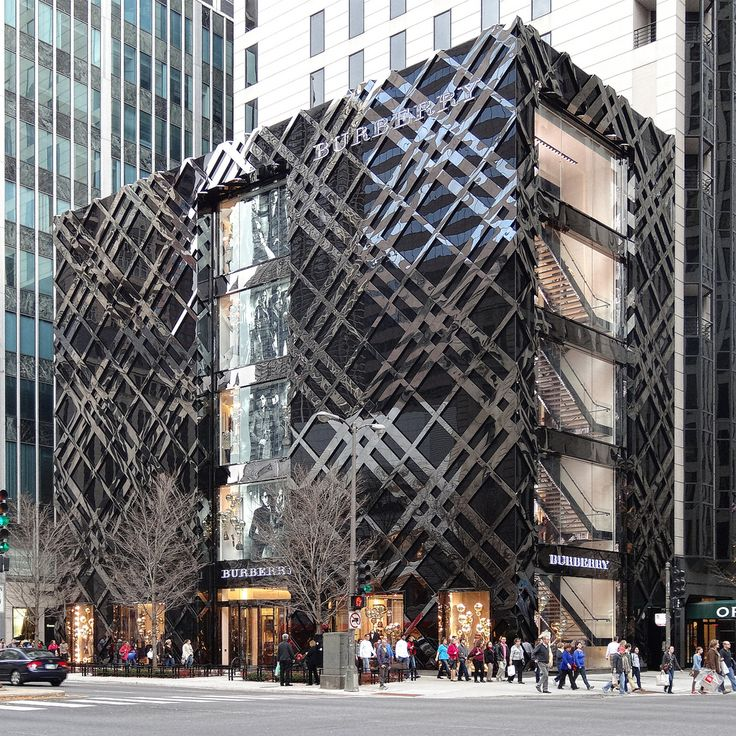 Chicago Magnificent Mile Burberry Store